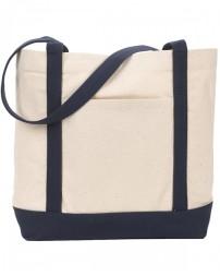127 Ensign's Boat Tote Bag - Gemline Tote Bags