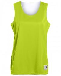 147 Ladies' Wicking Polyester Reversible Sleeveless Jersey - Augusta Drop Ship Womens T Shirts