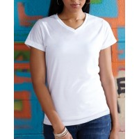 Ladies' V-Neck Sublimation T-Shirt