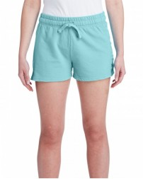 1537L Ladies' French Terry Short - Comfort Colors Womens Shorts