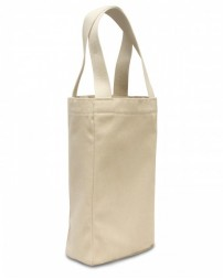 1726 Double Bottle Wine Tote - Liberty Bags Tote Bags