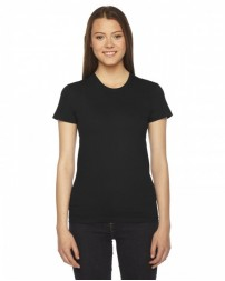 Ladies' Fine Jersey USA Made Short-Sleeve T-Shirt
