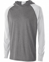 222539 Unisex Dry-Excel™ Echo Hooded T-Shirt - Holloway Hooded T Shirts