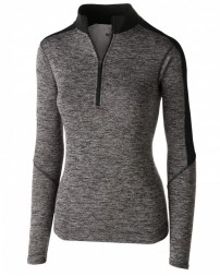 222742 Ladies' Electrfy 1/2 Zip Pullover - Holloway Shirts