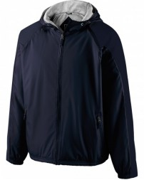 229111 Adult Polyester Full Zip Hooded Homefield Jacket - Holloway Jackets