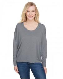 34PVL Ladies' Freedom Long-Sleeve T-Shirt - Anvil Womens T Shirts