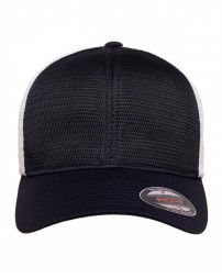 360T Flexfit® Adult Stretch-Fitted 360° OmniMesh™ Cap - Yupoong Caps