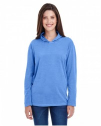 4900 Adult Heavyweight RS Long-Sleeve Hooded T-Shirt - Comfort Colors Hooded T Shirts