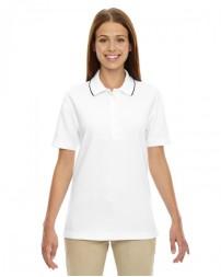 75045 Ladies' Edry® Needle-Out Interlock Polo - Extreme Women Polo Shirts