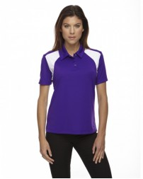 75066 Ladies' Eperformance™ Colorblock Textured Polo - Extreme Women Polo Shirts