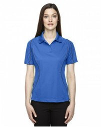 75107 Ladies' Eperformance™ Velocity Snag Protection Colorblock Polo with Piping - Extreme Women Polo Shirts