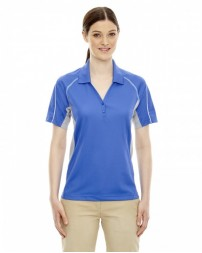 75110 Ladies' Eperformance™ Parallel Snag Protection Polo with Piping - Extreme Women Polo Shirts