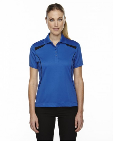 75112 Ladies' Eperformance™' Tempo Recycled Polyester Performance Textured Polo - Extreme Women Polo Shirts