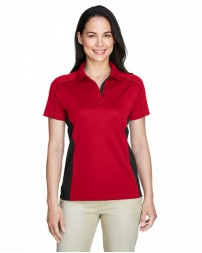 75113 Ladies' Eperformance™ Fuse Snag Protection Plus Colorblock Polo - Extreme Women Polo Shirts