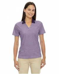 75115 Ladies' Eperformance™ Launch Snag Protection Striped Polo - Extreme Women Polo Shirts