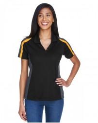75119 Ladies' Eperformance™ Strike Colorblock Snag Protection Polo - Extreme Women Polo Shirts
