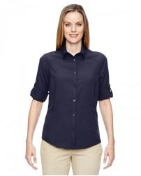 77047 Ladies' Excursion Concourse Performance Shirt - North End Women Shirts