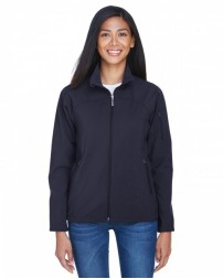78034 Ladies' Three-Layer Fleece Bonded Performance Soft Shell Jacket - North End Womens Jackets