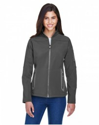 78060 Ladies' Three-Layer Fleece Bonded Soft Shell Technical Jacket - North End Women Jackets