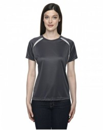 78068 Ladies' Athletic Crew Neck Top - North End T Shirts