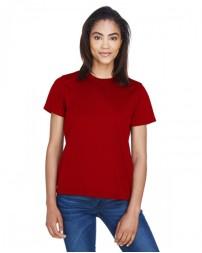 78182 Ladies' Pace Performance Piqué Crewneck - Core 365 Womens T Shirts