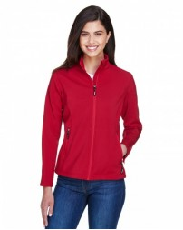 78184 Ladies' Cruise Two-Layer Fleece Bonded SoftShell Jacket - Core 365 Womens Jackets