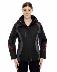 78195 Ladies' Height 3-in-1 Jacket with Insulated Liner - North End Womens Jackets