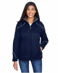 78196 Ladies' Angle 3-in-1 Jacket with Bonded Fleece Liner - North End Womens Jackets