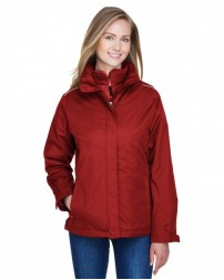 78205 Ladies' Region 3-in-1 Jacket with Fleece Liner - Core 365 Womens Jackets