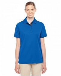 78222 Ladies' Motive Performance Piqué Polo with Tipped Collar - Core 365 Women Polo Shirts