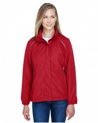78224 Ladies' Profile Fleece-Lined All-Season Jacket - Core 365 Womens Jackets