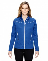 78806 Ladies' Cadence Interactive Two-Tone Brush Back Jacket - North End Women Jackets