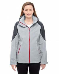 78808 Ladies' Impulse Interactive Seam-Sealed Shell - North End Womens Shell Jackets