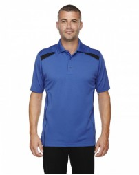 85112 Men's Eperformance™ Tempo Recycled Polyester Performance Textured Polo - Extreme Mens Polo Shirts