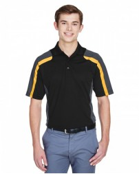 85119 Men's Eperformance™ Strike Colorblock Snag Protection Polo - Extreme Mens Polo Shirts