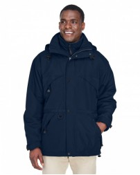 88007 Adult 3-in-1 Parka with Dobby Trim - North End Parkas