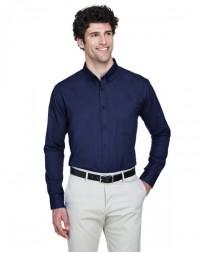 88193T Men's Tall Operate Long-Sleeve Twill Shirt - Core 365 Mens Woven Shirts