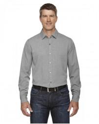 88802 Men's Mélange Performance Shirt - North End Mens Woven Shirts
