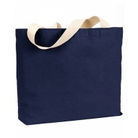 12 oz., Cotton Canvas Jumbo Tote