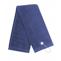 Ultra Plush Trifold Golf Towel with Grommet