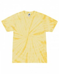 CD101Y Youth 5.4 oz. 100% Cotton Spider T-Shirt - Tie-Dye Cotton T Shirts