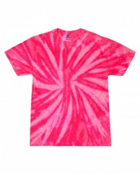CD110Y Youth 5.4 oz., 100% Cotton Twist Tie-Dyed T-Shirt - Tie-Dye T Shirts