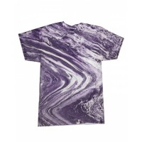 Adult 100% Cotton Marble T-Shirt