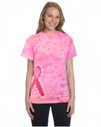 CD1150 Pink Ribbon T-Shirt - Tie-Dye T Shirts