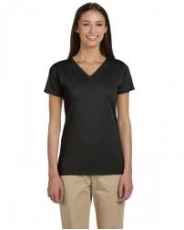 EC3052 Ladies' 100% Organic Cotton Short-Sleeve V-Neck T-Shirt - econscious Womens T Shirts