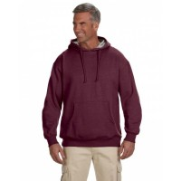Adult 7 oz. Organic/Recycled Heathered Fleece Pullover Hood
