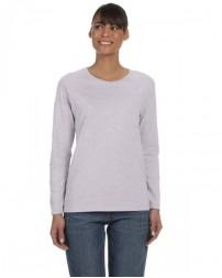 G540L Ladies' Heavy Cotton™ Long-Sleeve T-Shirt - Gildan Womens T Shirts