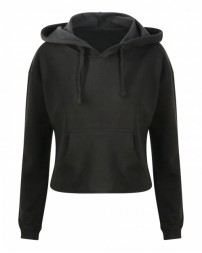 JHA016 Ladies' Girlie Cropped Hooded Fleece with Pocket - Just Hoods By AWDis Hooded Sweatshirts