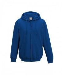 JHA050 Men's 80/20 Midweight College Full-Zip Hooded Sweatshirt - Just Hoods By AWDis Sweatshirts
