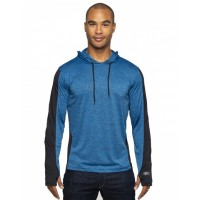 Adult 4.4 oz., Perfomance Cationic Hooded T-Shirt